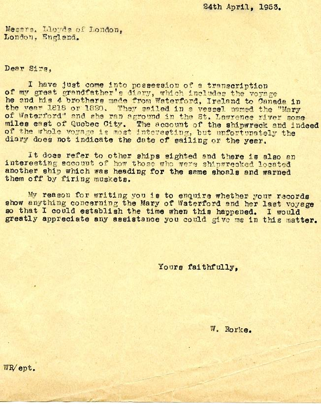 The blue mountains digital archive letter messrs lloyds of the blue mountains digital archive letter messrs lloyds of london w rorke part 2 spiritdancerdesigns Gallery