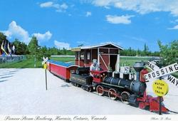 Scenic Caves - Authentic Scale Model Steam Train