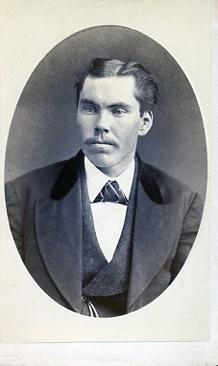 W. Gould Photographer, Owen Sound - Portrait of a young man