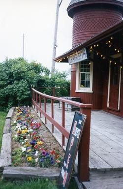 The Depot - Flower Bed and North Porch