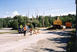 The Depot - Sewer Construction - July 1990
