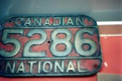 The Depot -  Canadian 5286 National Train