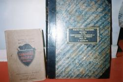 The Depot - Artifact -  Canadian Pacific Railway and an unidentified book