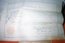 The Depot - Artifact - Certificate