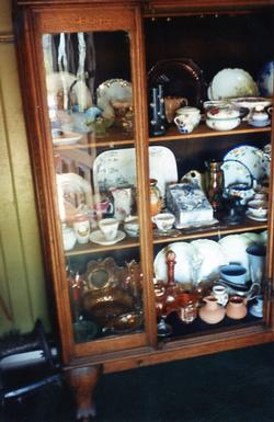The Depot - Artifact - Large Cupboard with Ceramic Ware