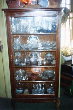 The Depot - Artifact -  Medium Cupboard with Glass Ware