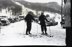 Skiers at Blue Mountain