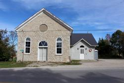 Ravenna Community Hall, Front View