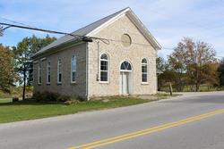 Ravenna Community Hall, Side View
