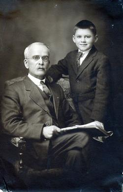 Portrait of William Ormand Rorke and Willard Rorke