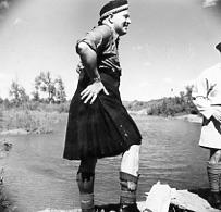 Willard Rorke in a Kilt