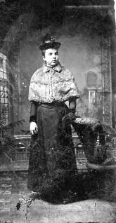 Tin Photograph - Unidentified Woman