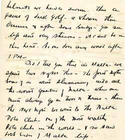 Letter from Willard to his mother 15-10-34 - part 14