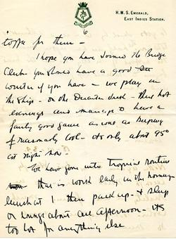 Letter from Willard to his mother 15-10-34 - part 11