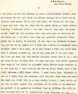 Letter from Willard to his mother - 5-1-35 - part 15