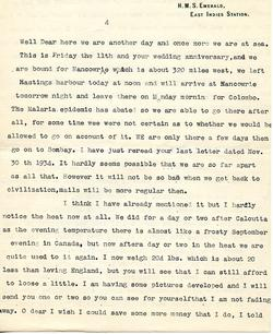 Letter from Willard to his mother - 5-1-35 - part 7