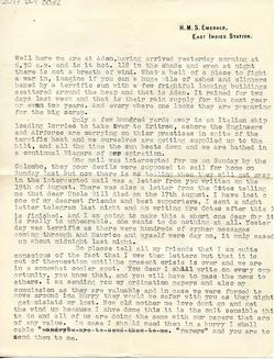 Letter from Willard to his mother - 9-9-35 - part 3