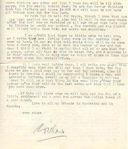 Letter from Willard to his mother - 9-9-35 - part 2