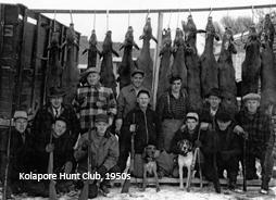 Kolapore Hunt Club,  1950s
